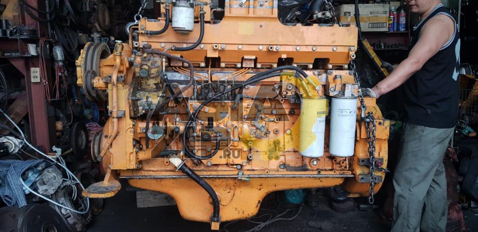 Двигатель в сборе KOMATSU S6D140 б/у
