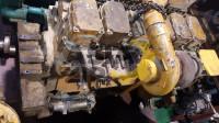 Двигатель в сборе KOMATSU S6D140-1 б/у