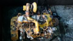 Двигатель в сборе KOMATSU S4D105-5 б/у