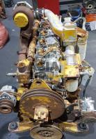 Двигатель в сборе KOMATSU S6D125 c возд. комп. б/у