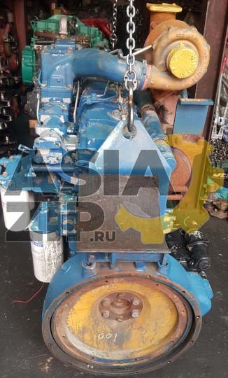 Двигатель в сборе KOMATSU S6D125 б/у